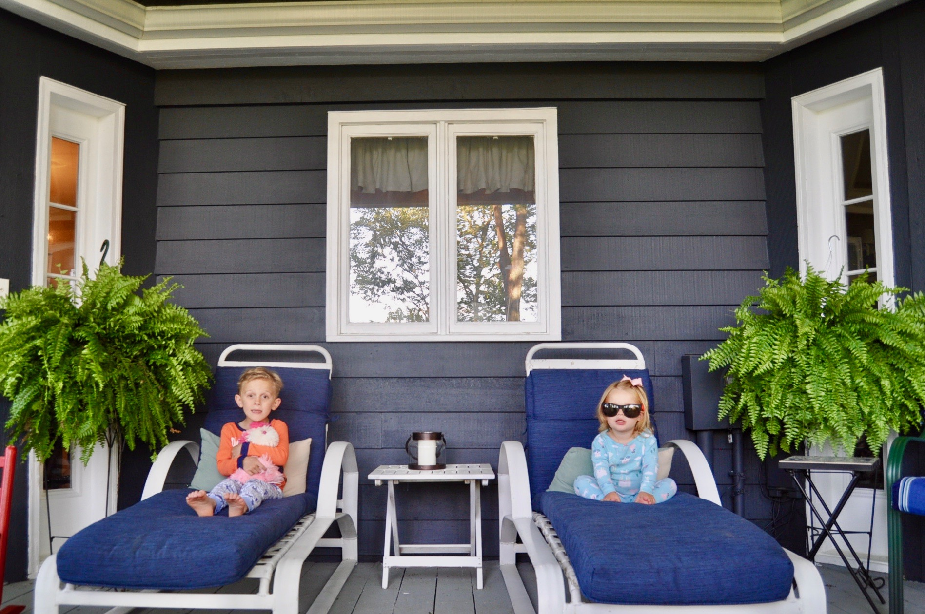 The kids love these lounge chairs.