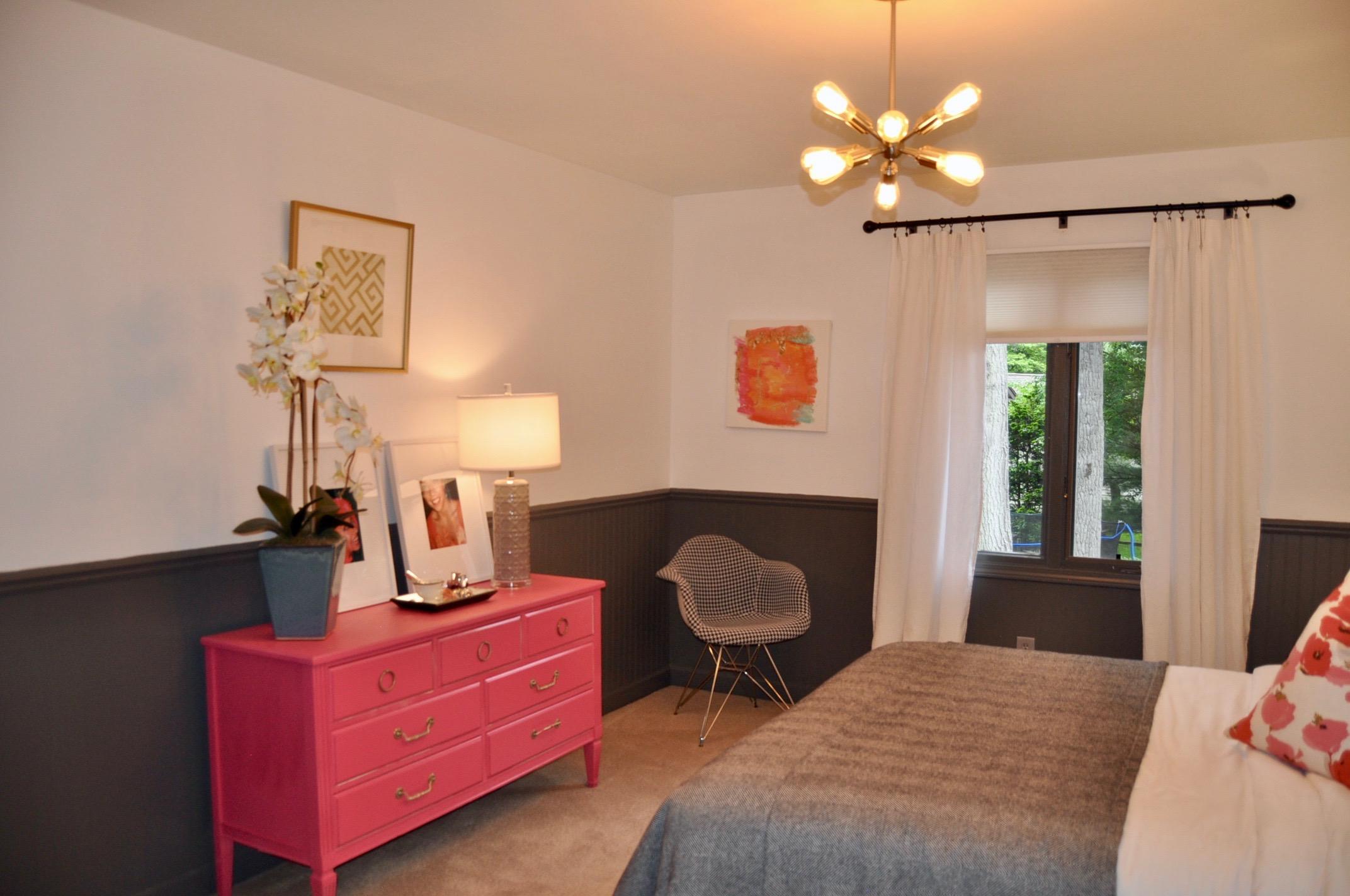 Funky guest bedroom