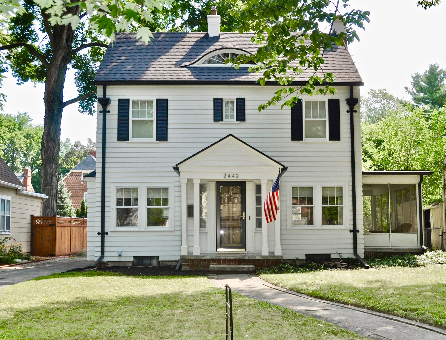 This is their gorgeous home we are selling in Old Orchard.