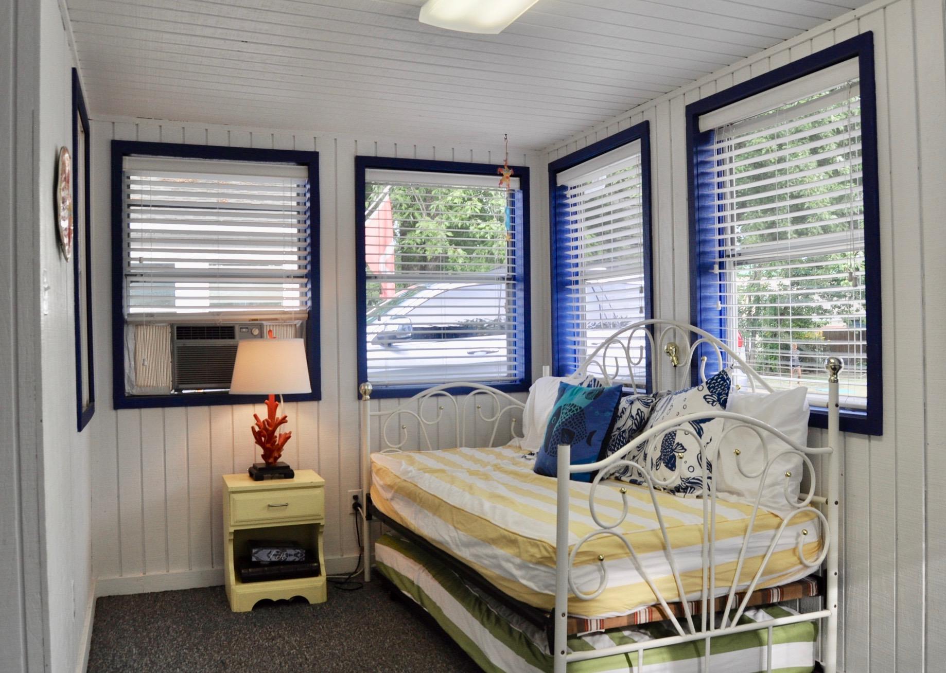 After image of cottage porch/bedroom