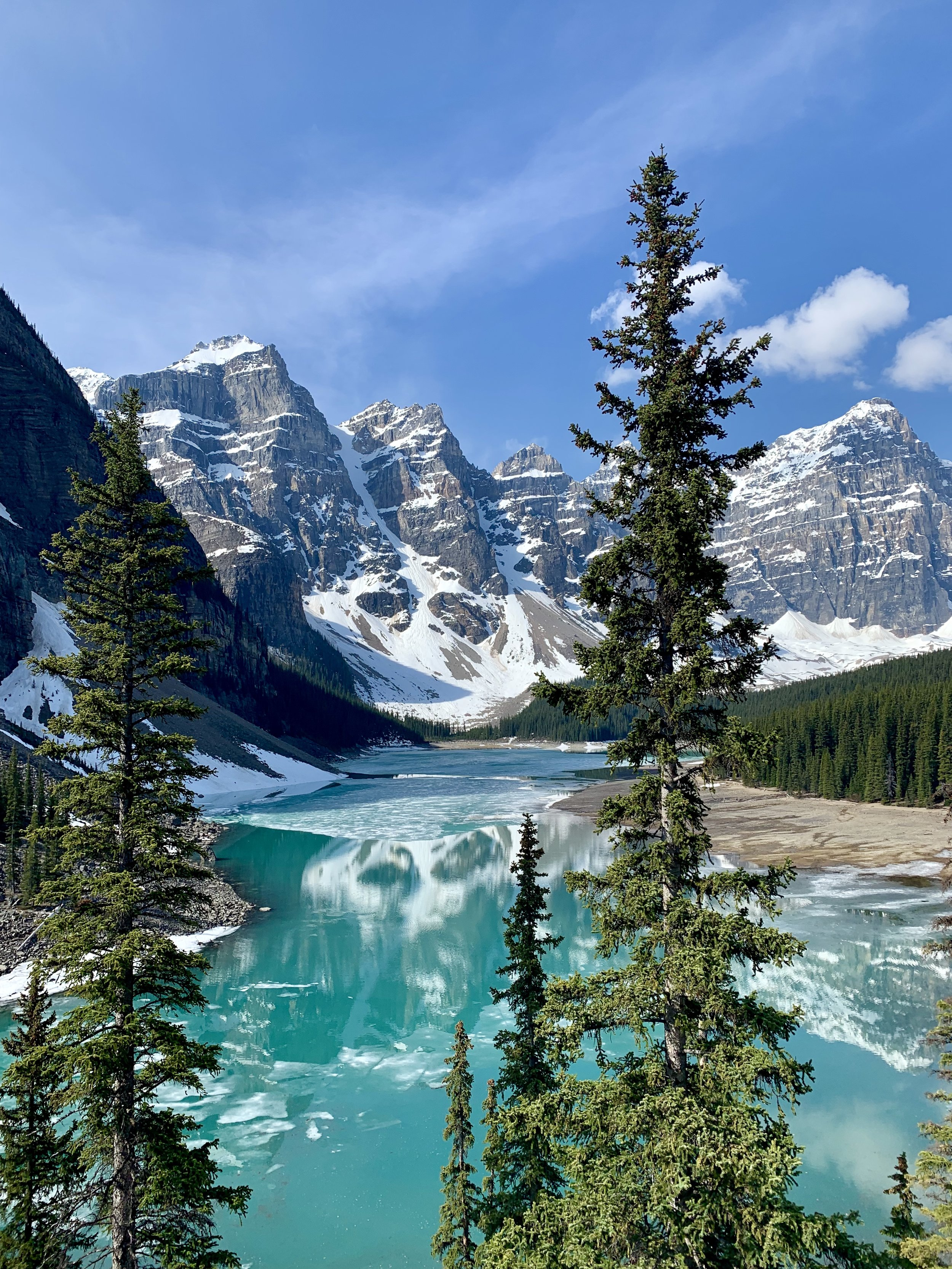 Lake Moraine - So much inspiration in this breathtaking place!