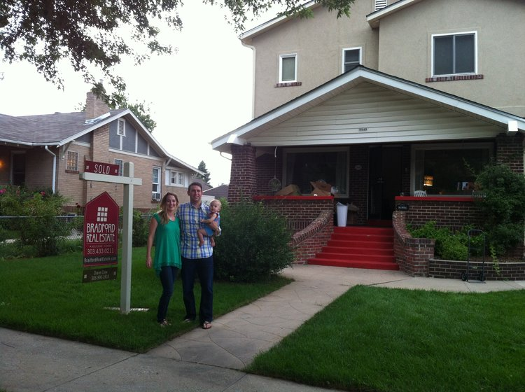The second home we owned in Denver.