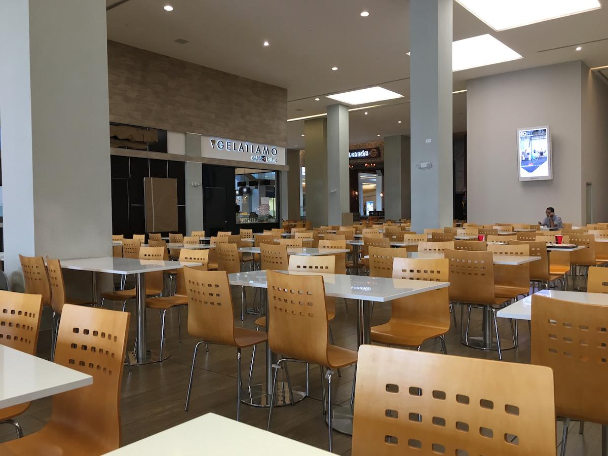 Empty Food Court, Soho Mall