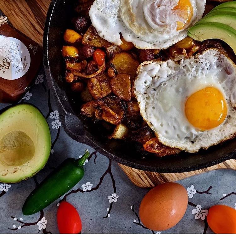 Breakfast Hash Potatoes and Veggies