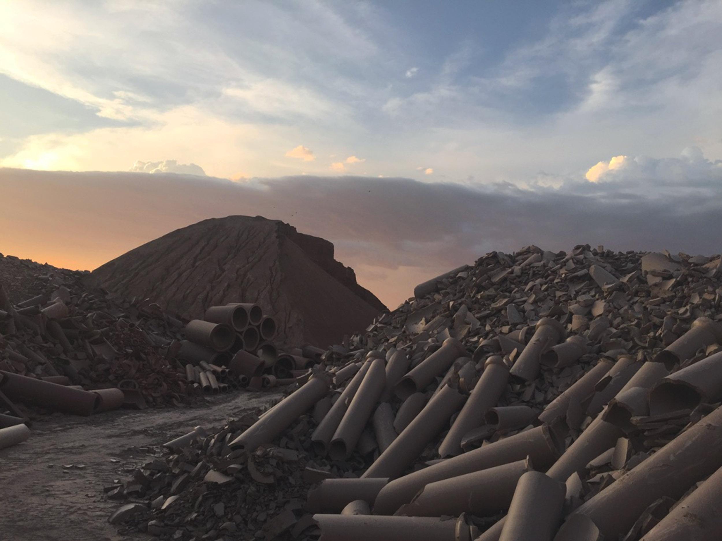 MIssion Clay Phoenix Arizona.Photograph by Tom Franco 2016