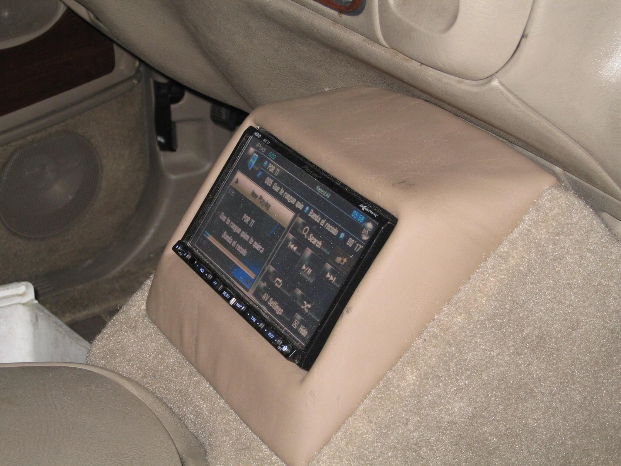Custom Car Video Installation