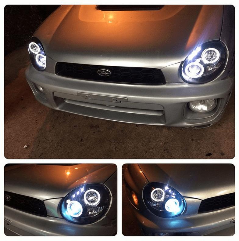 Car Headlight Installation at Stereo Depot San Diego