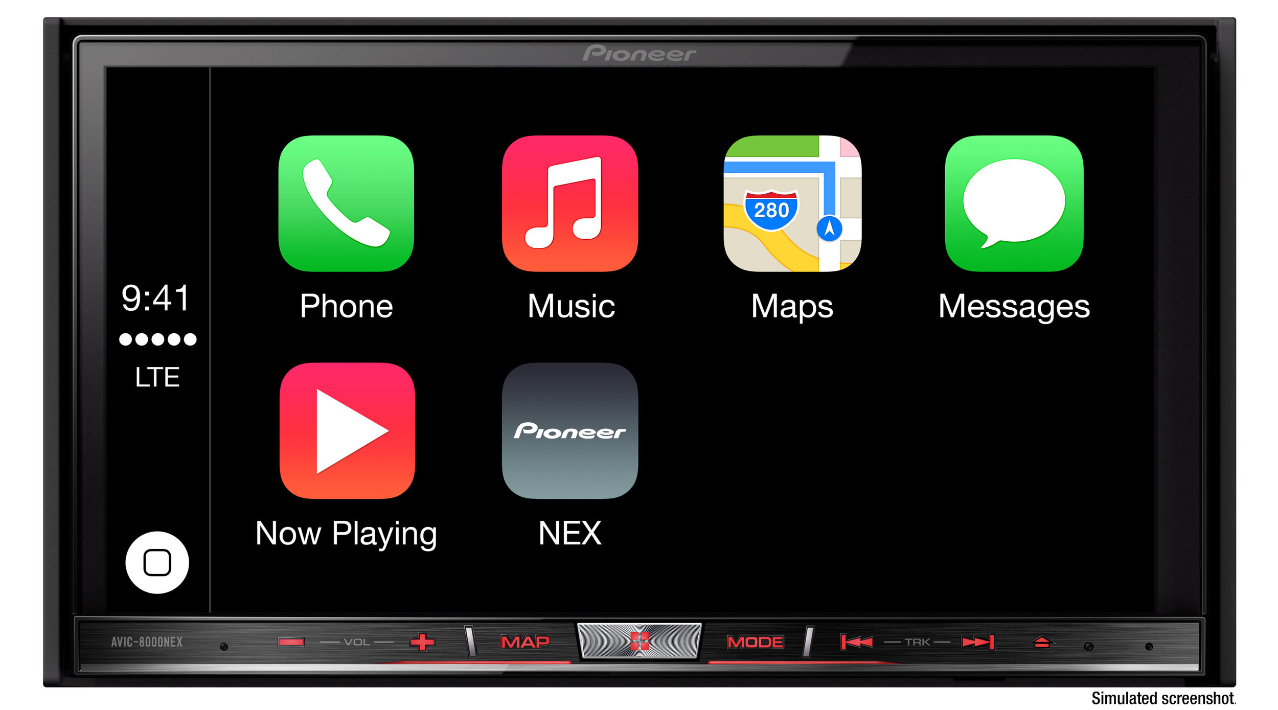 Apple CarPlay for iPhone at Stereo Depot.
