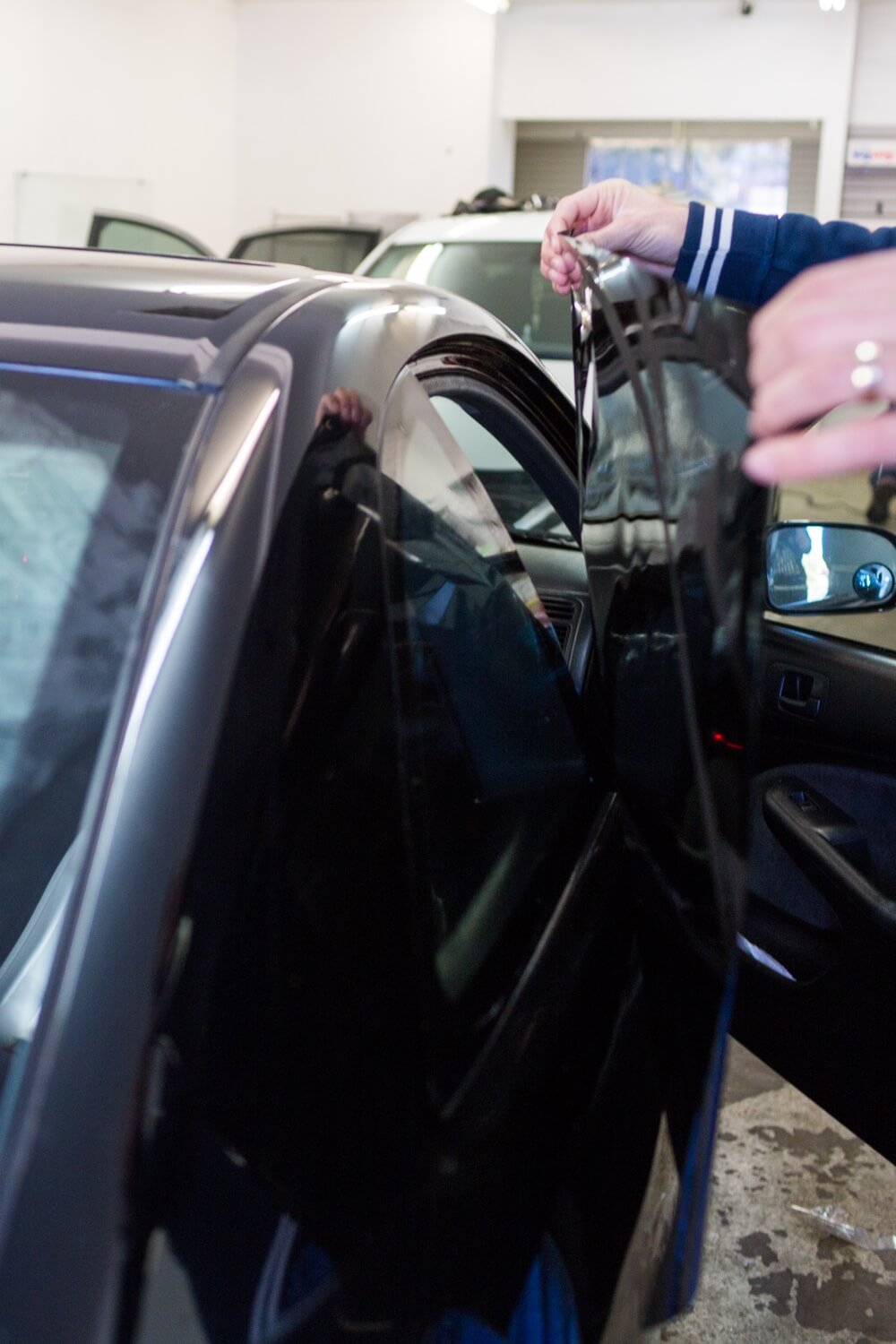 Car tinted windows can save you money on gas in San Diego.