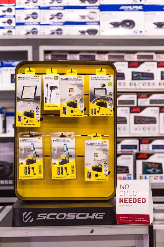 Scosche Car Accessories at Stereo Depot in El Cajon