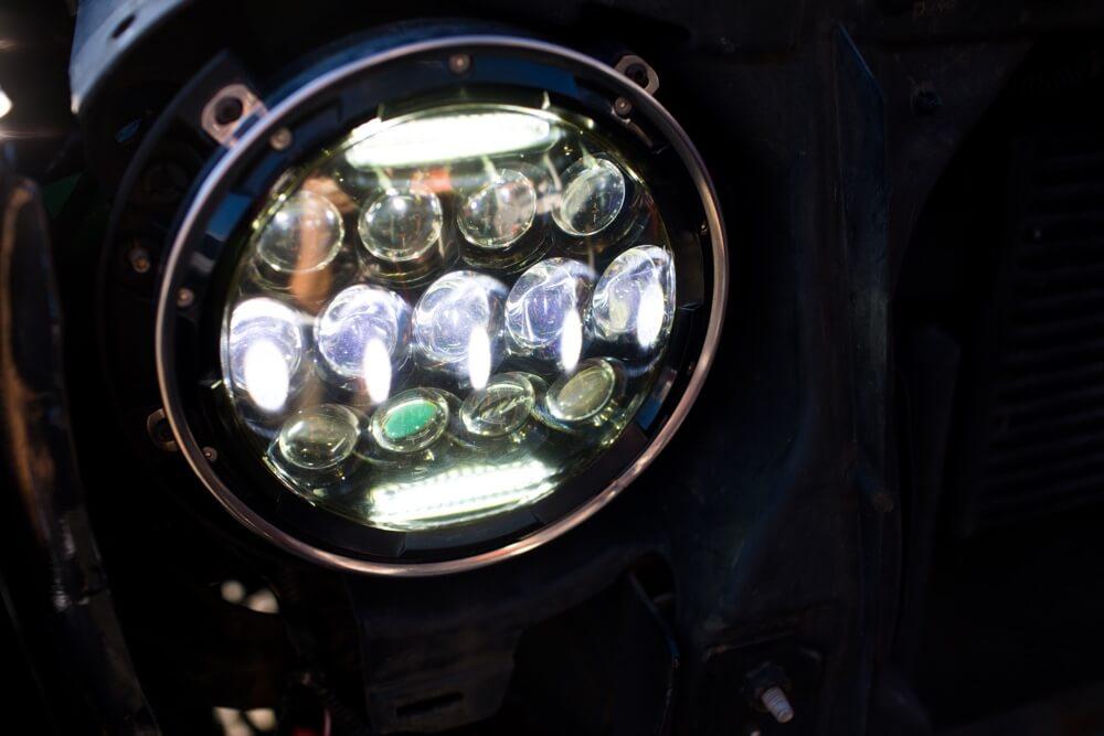 Car HID Headlight Installation at Stereo Depot in El Cajon