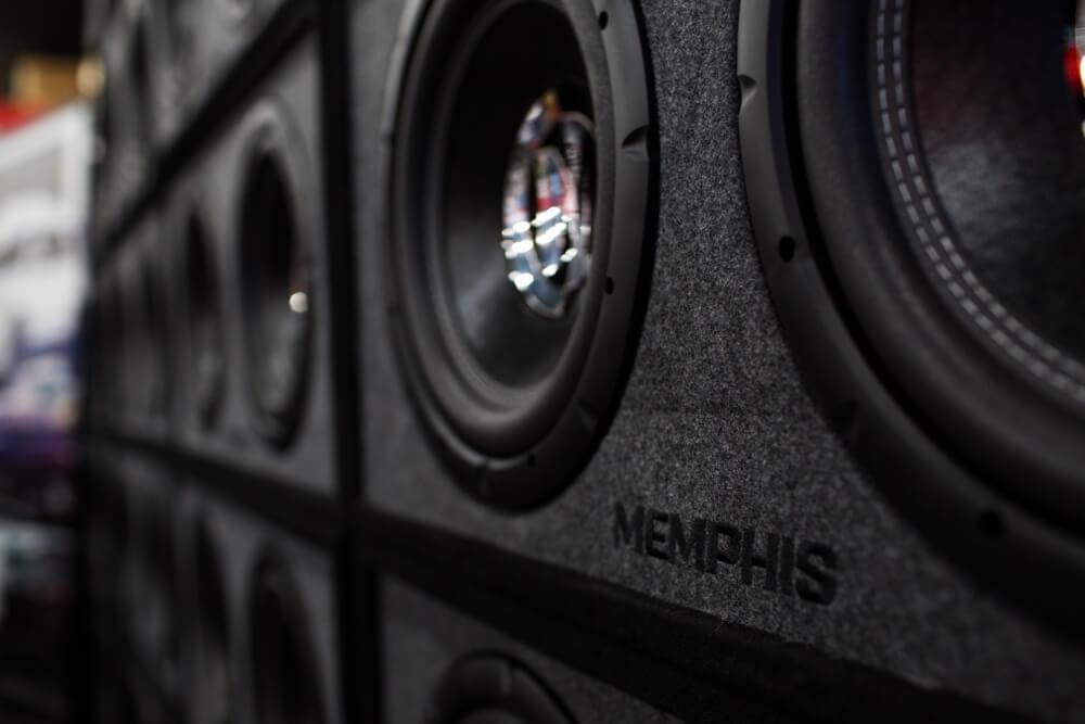 Memphis speakers and car stereo speaker installation