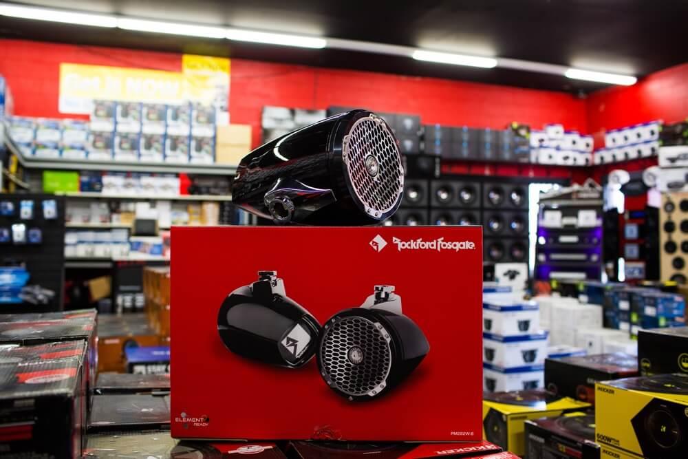 Rockford Fosgate Waterproof boat speaker system