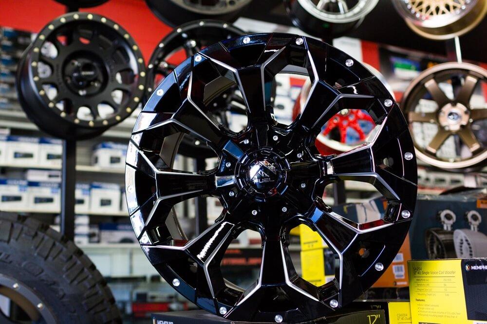 Black Wheels and Rims at Stereo Depot El Cajon