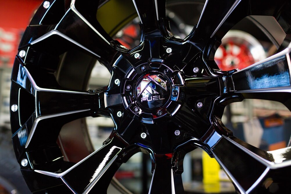 Rims, wheels and tire installation in San Diego.