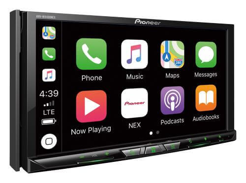 Apple CarPlay Connection With iPhone