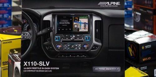 Car GPS Navigation System at Stereo Depot.