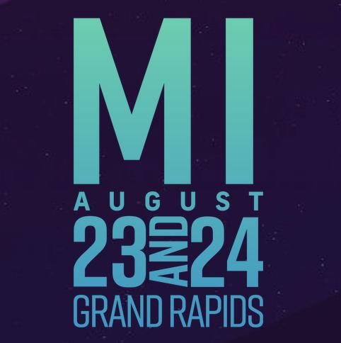 CATCH US AT… - Breakaway Music Festival, Grand Rapids Michigan 2019!
