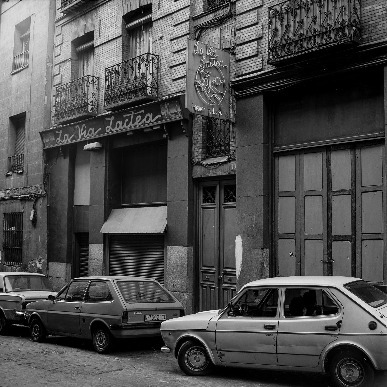 La Vía Láctea. Malasaña, Madrid 1990