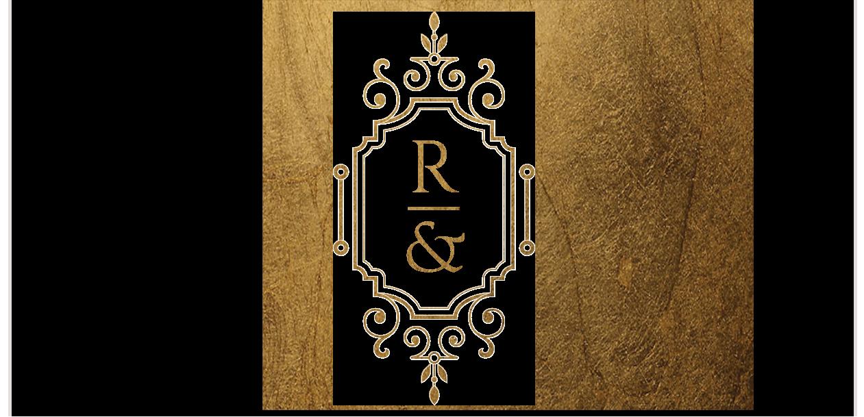 Rose&Ruby Monogram Footer