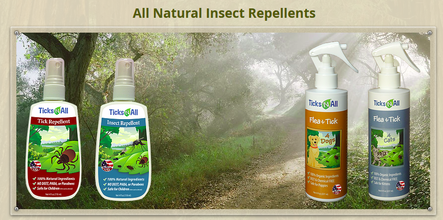 Best Natural Toxin Free Tick Misquito Repellent