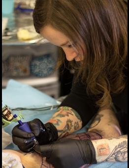 Lindsay Baker tattoo for Lyme