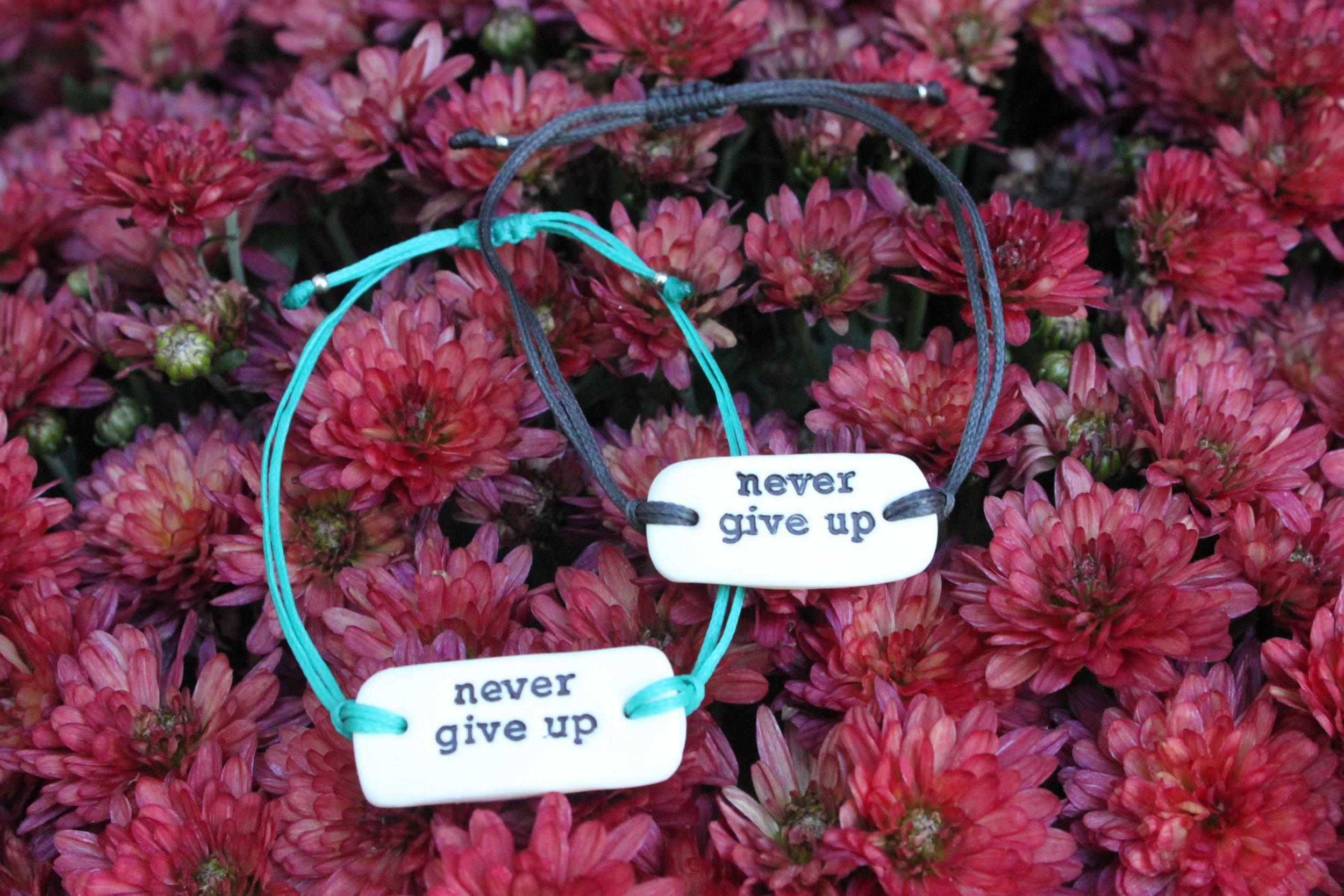 Never Give Up Bracelet