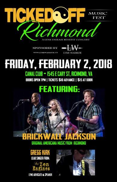 Ticked Off Music Richmond Virginia Lyme Disease