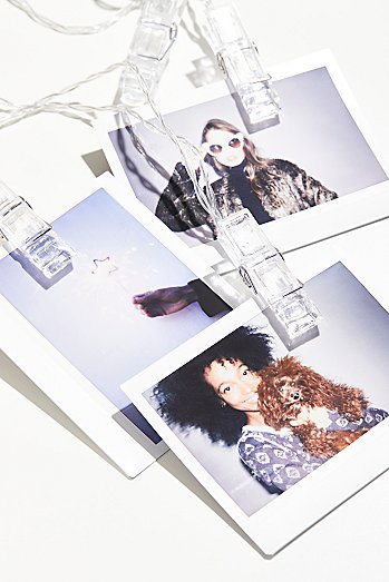 FP Flash Back Photo Clips String Lights - This is a fun and creative way to display photos you take with your friends!