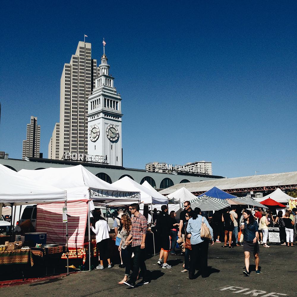 Ferry Building Farmers Market | San Francisco, CA