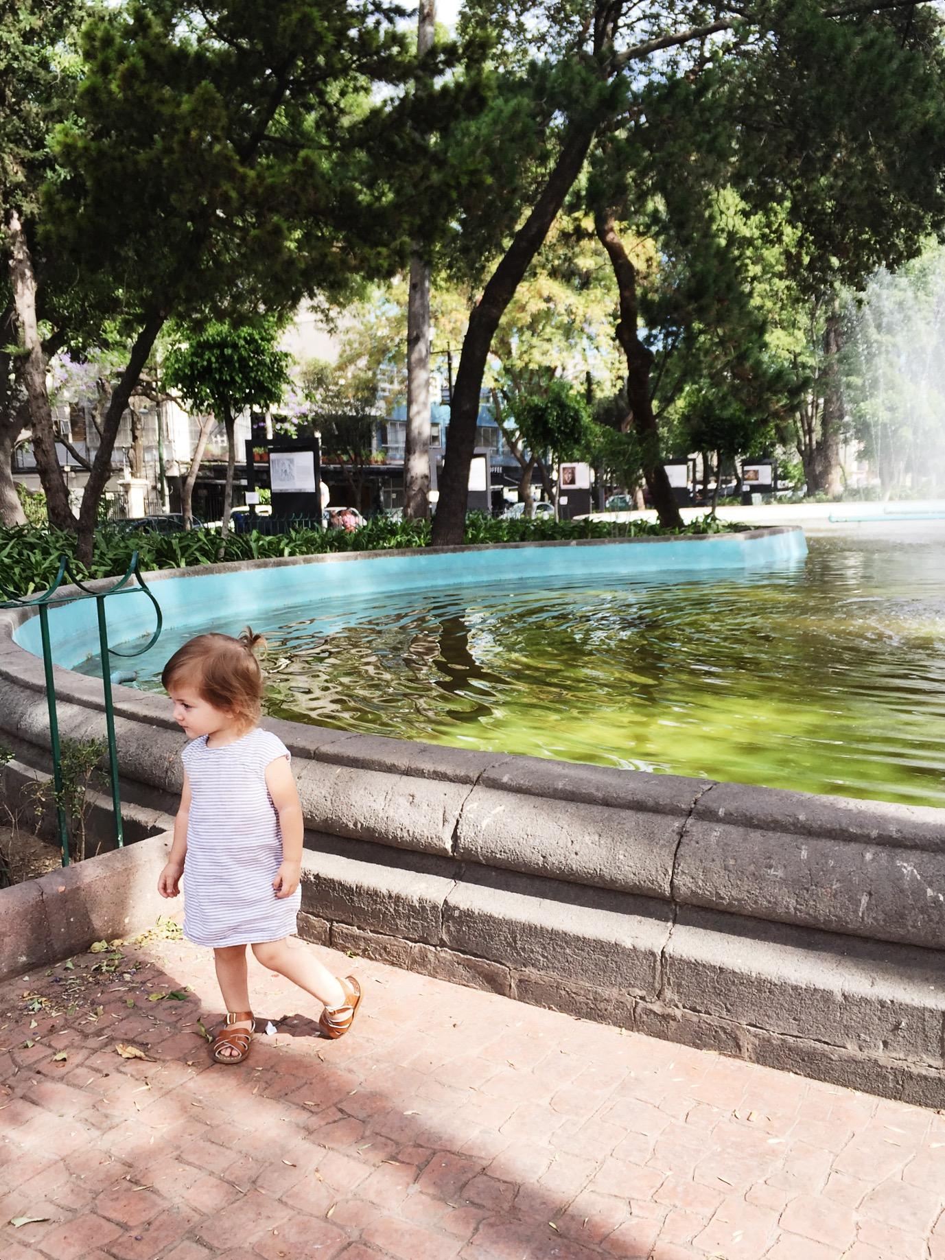 Colonia Roma park