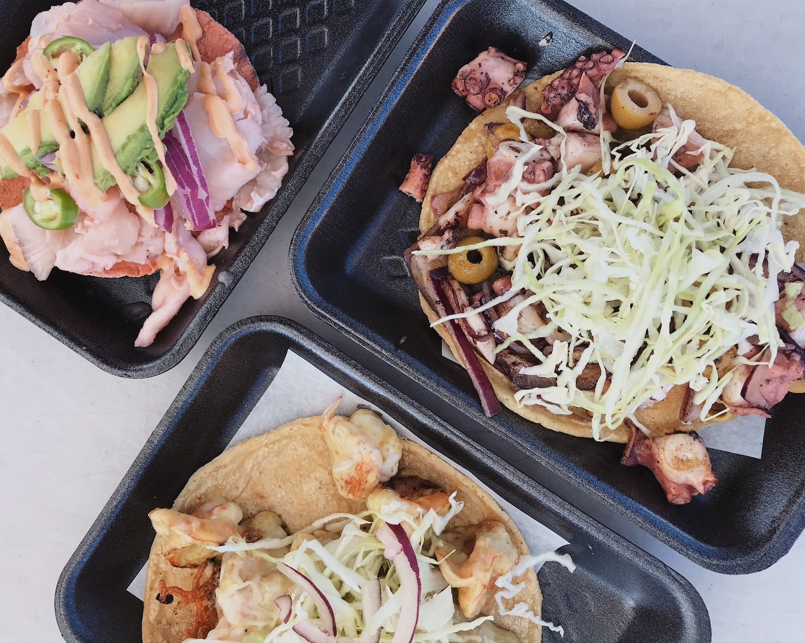 Tacos and tostadas| ©Life & Food