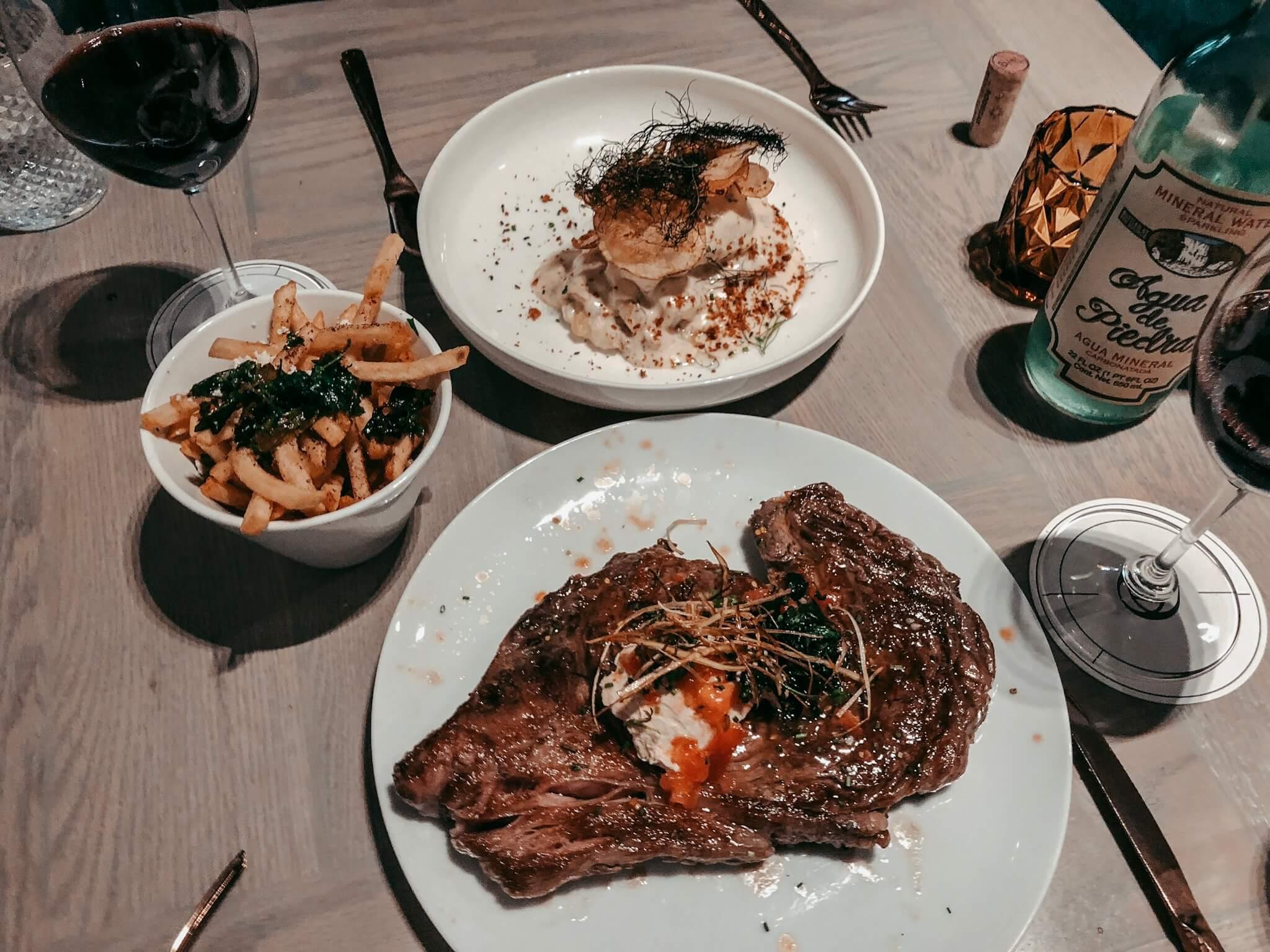 Fish of the Day + Steak Frites | Georgina Restaurante