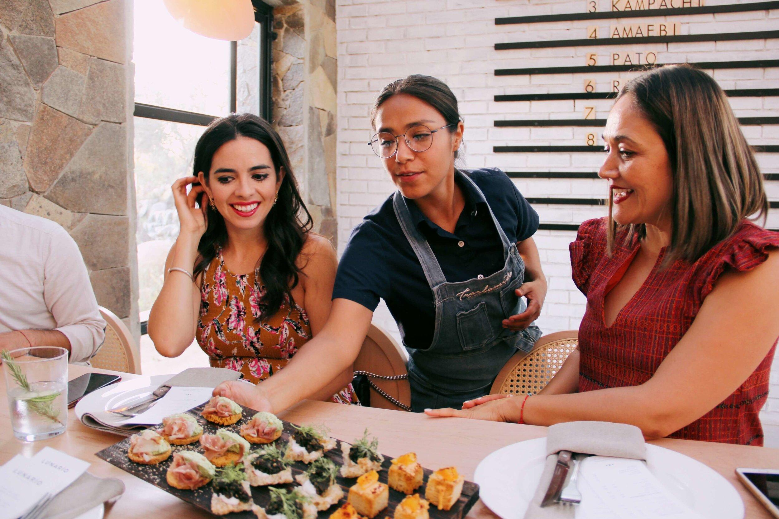 Chef Sheyla Alvarado of Lunario at Lomita winery | Valle de Guadalupe | ©Life & Food