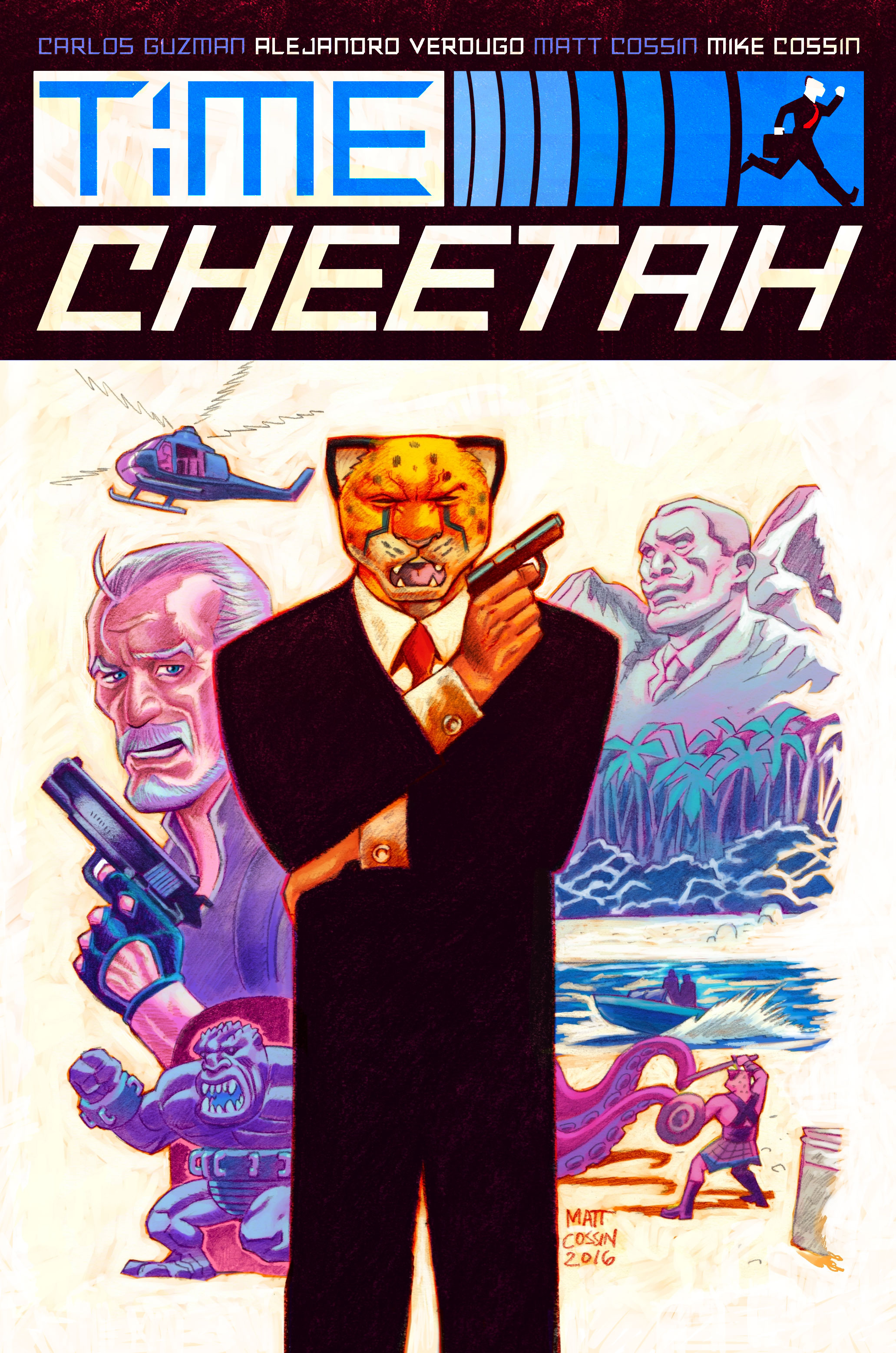 Time Cheetah - The Secret of Stalin Island Part 1 Cover