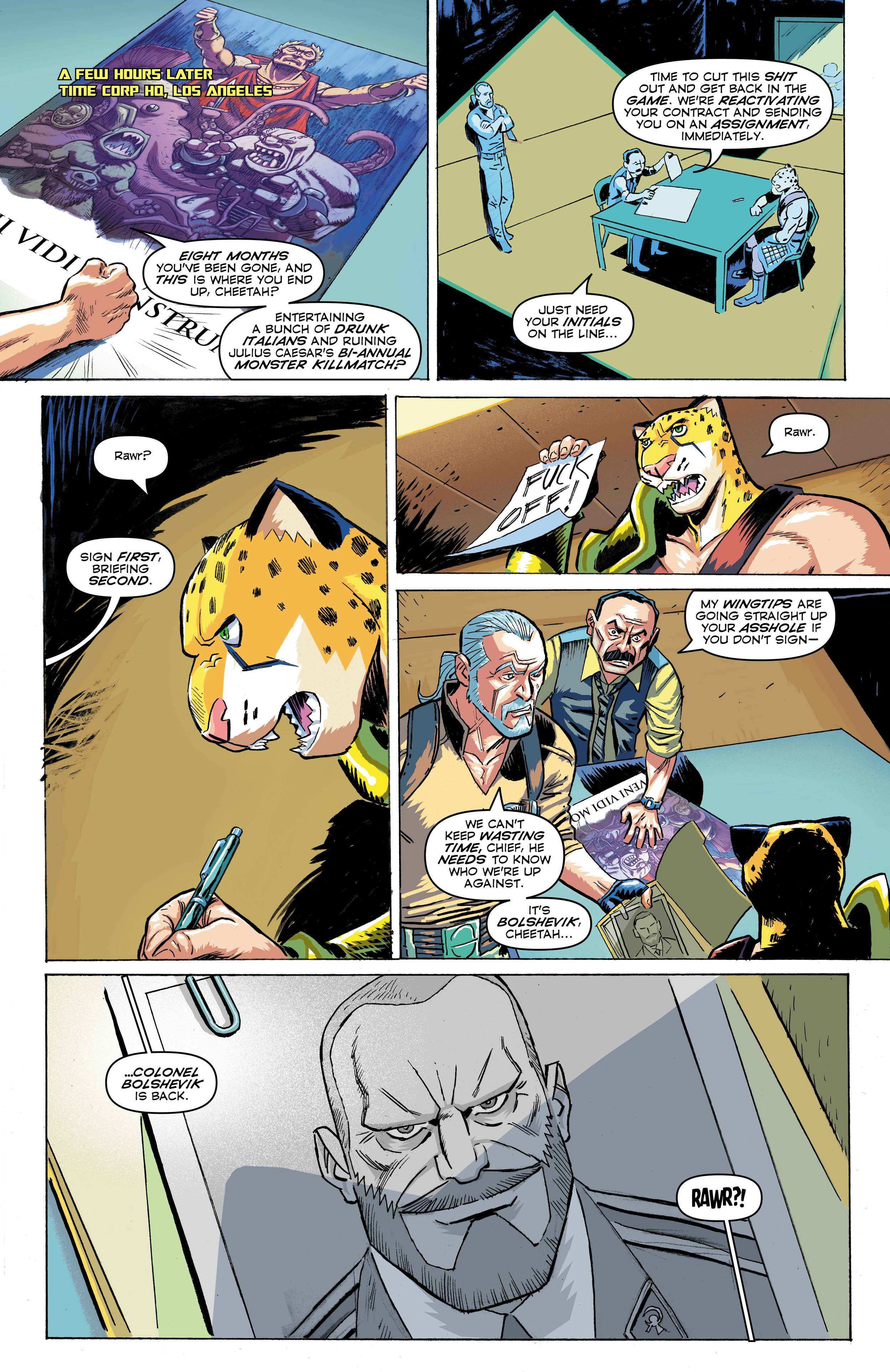 Time Cheetah - The Secret of Stalin Island Part 1 - Page 06