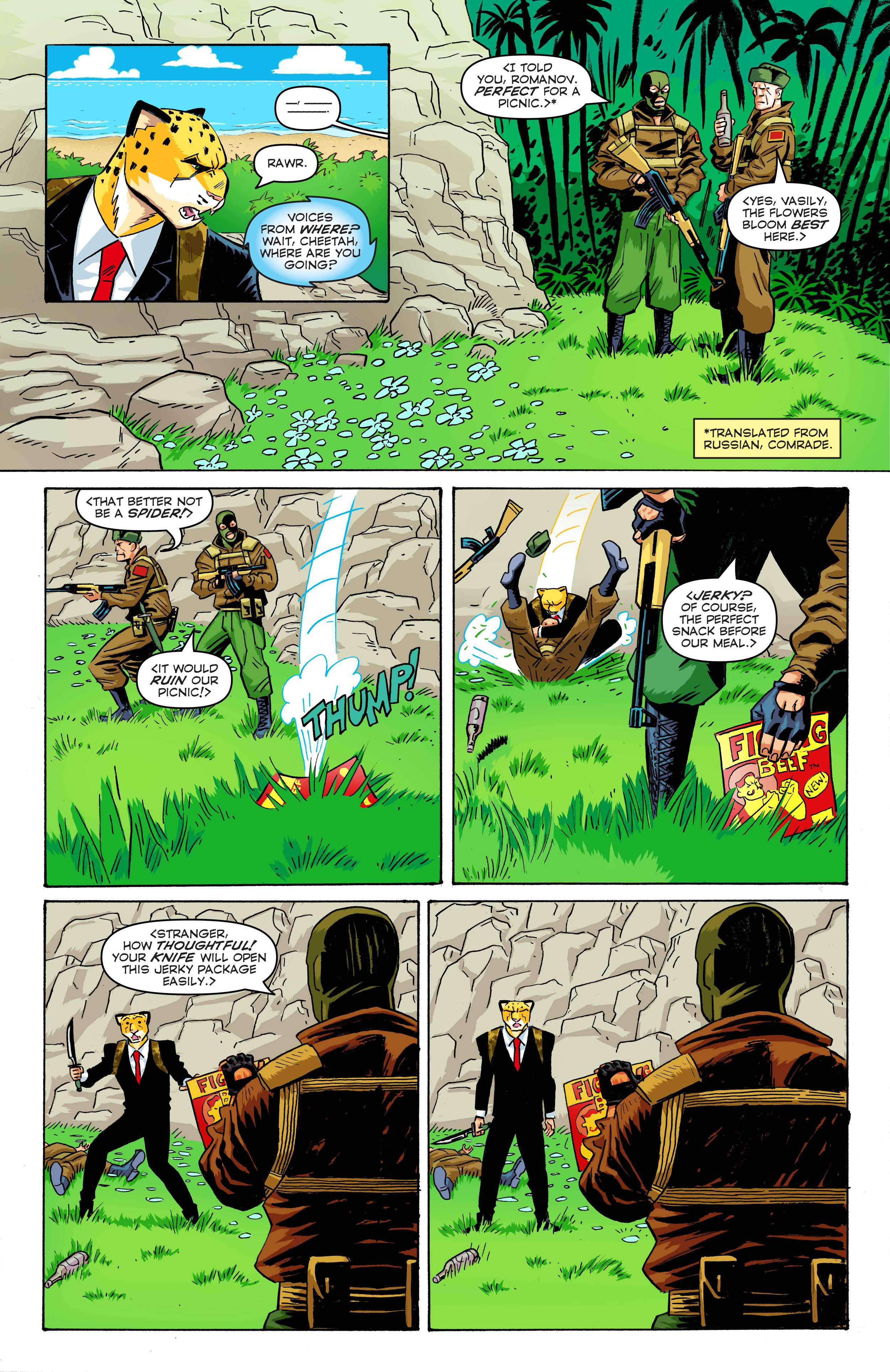 Time Cheetah - The Secret of Stalin Island Part 1 - Page 17