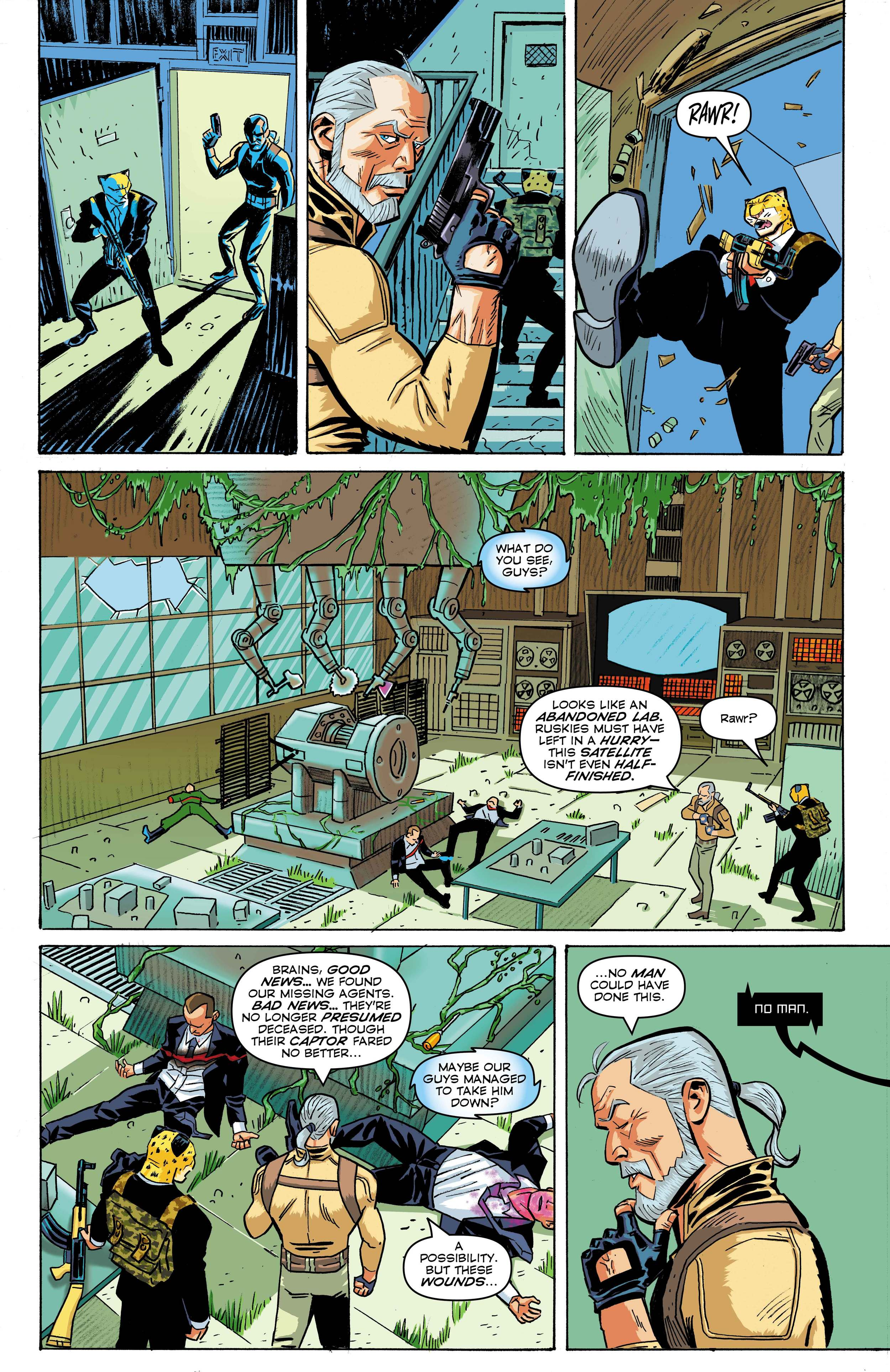 Time Cheetah - The Secret of Stalin Island Part 1 - Page 20