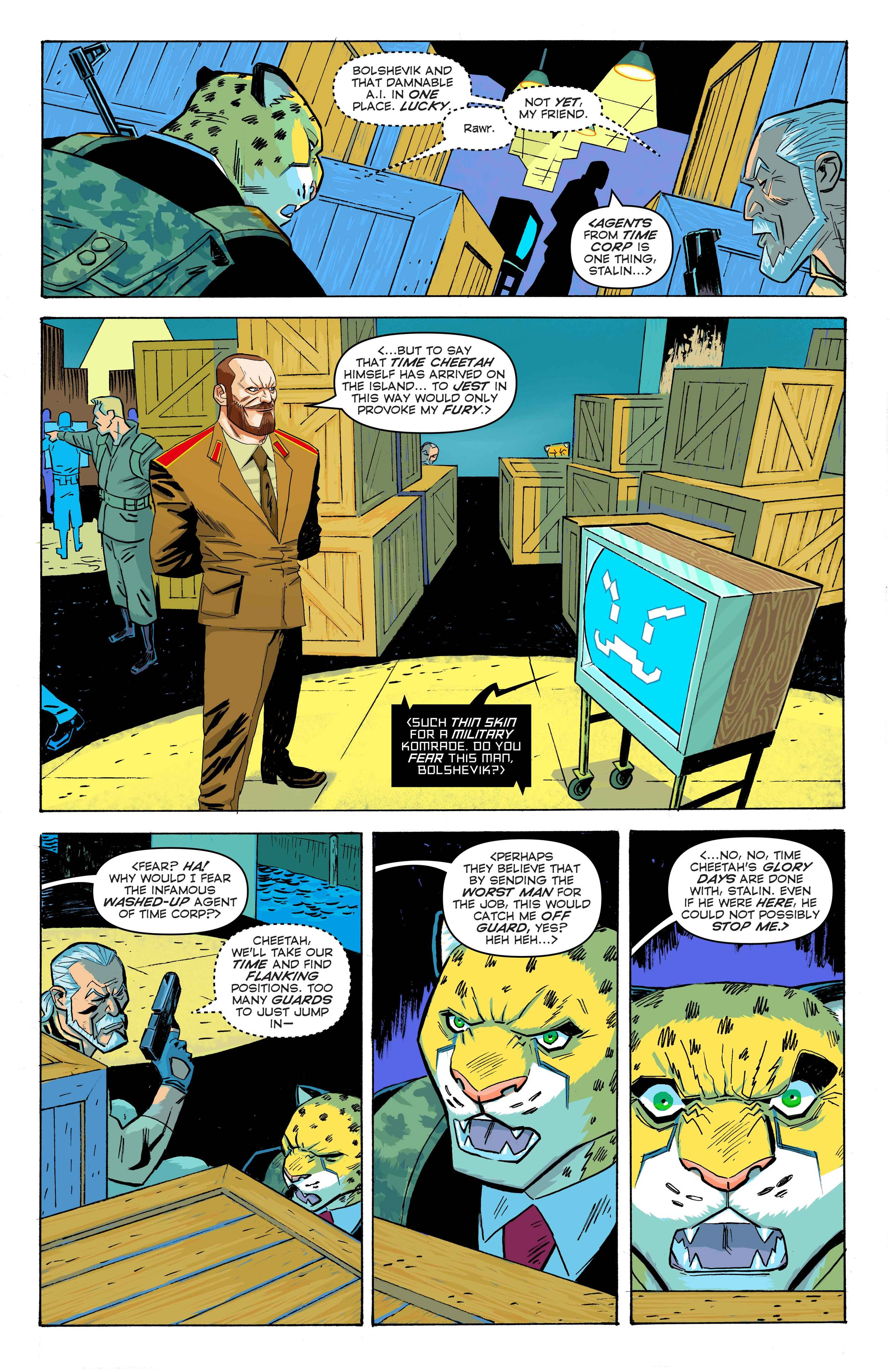 Time Cheetah - The Secret  of Stalin Island Part 1 - Page 25