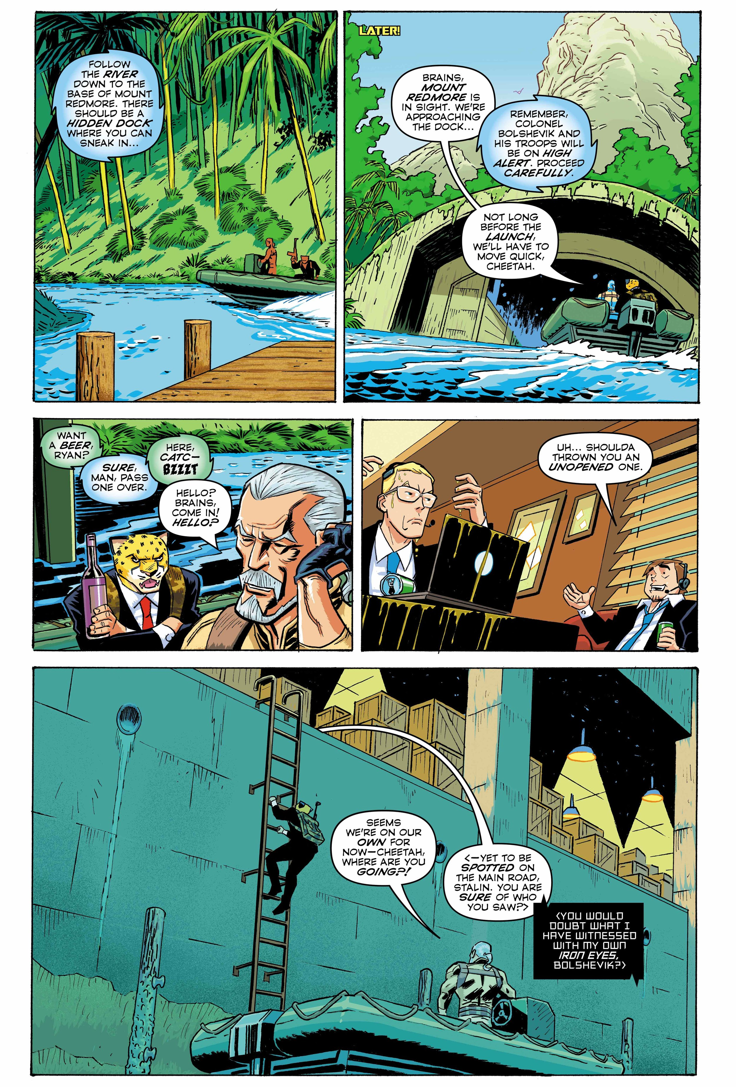 Time Cheetah - The Secret of Stalin Island Part 1 - Page 24