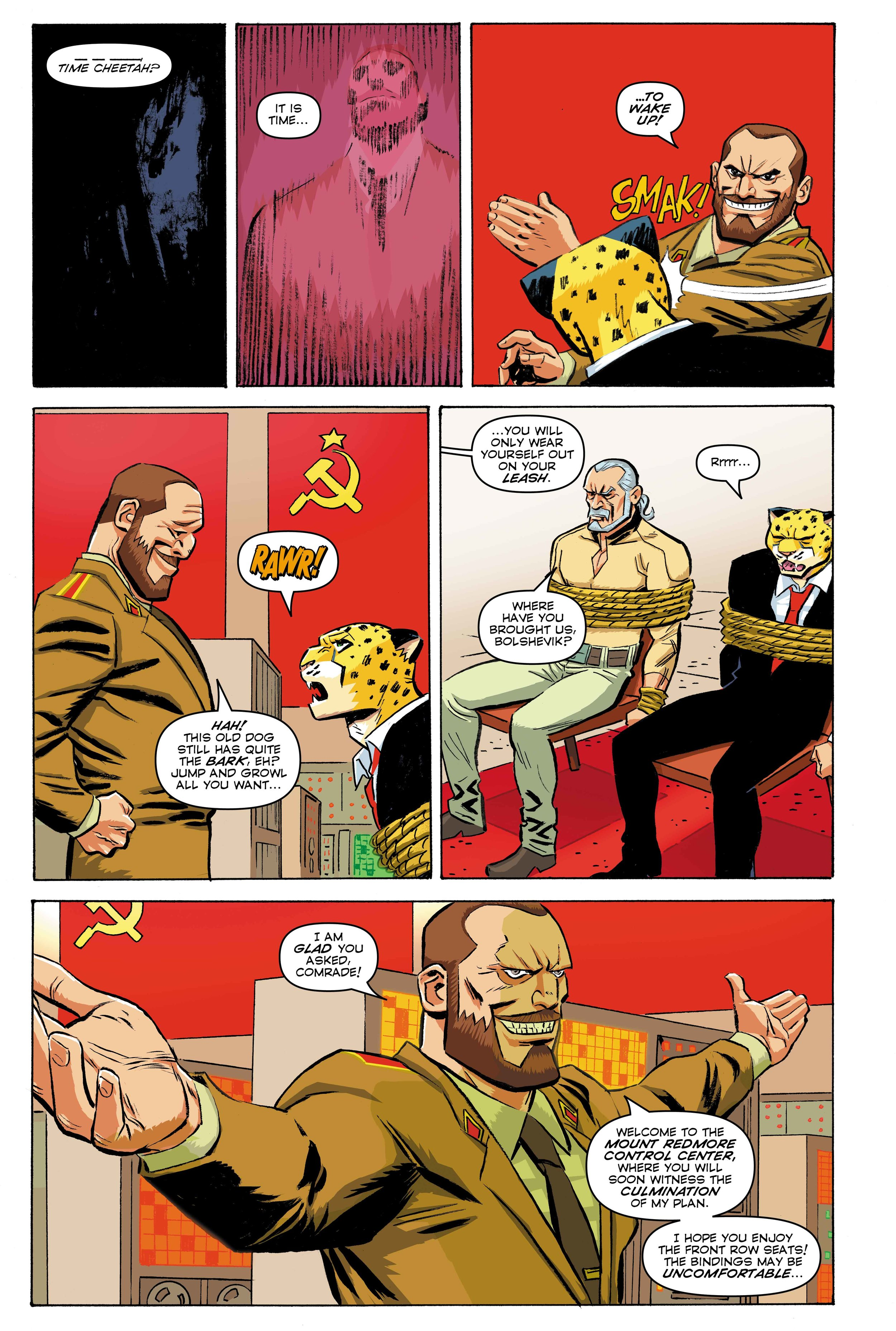 Time Cheetah - The Secret of Stalin Island Part 2 - Page 01