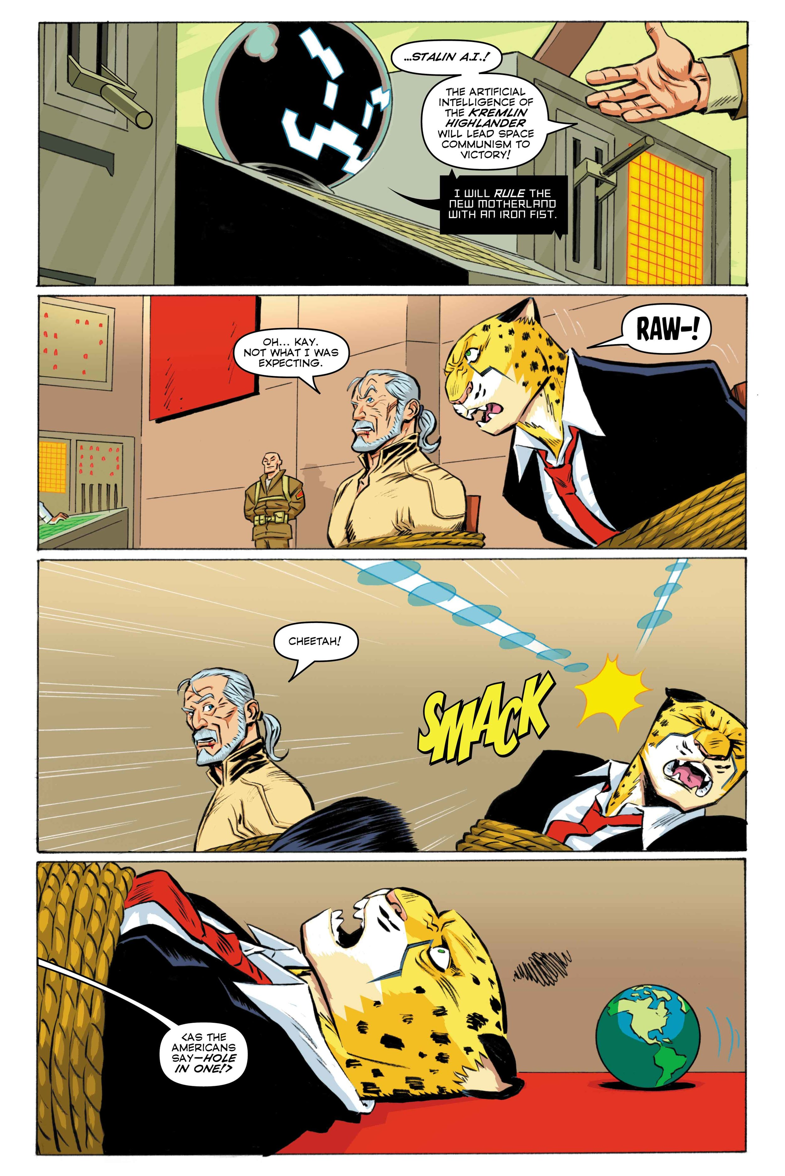 Time Cheetah - The Secret of Stalin Island Part 2 - Page 06