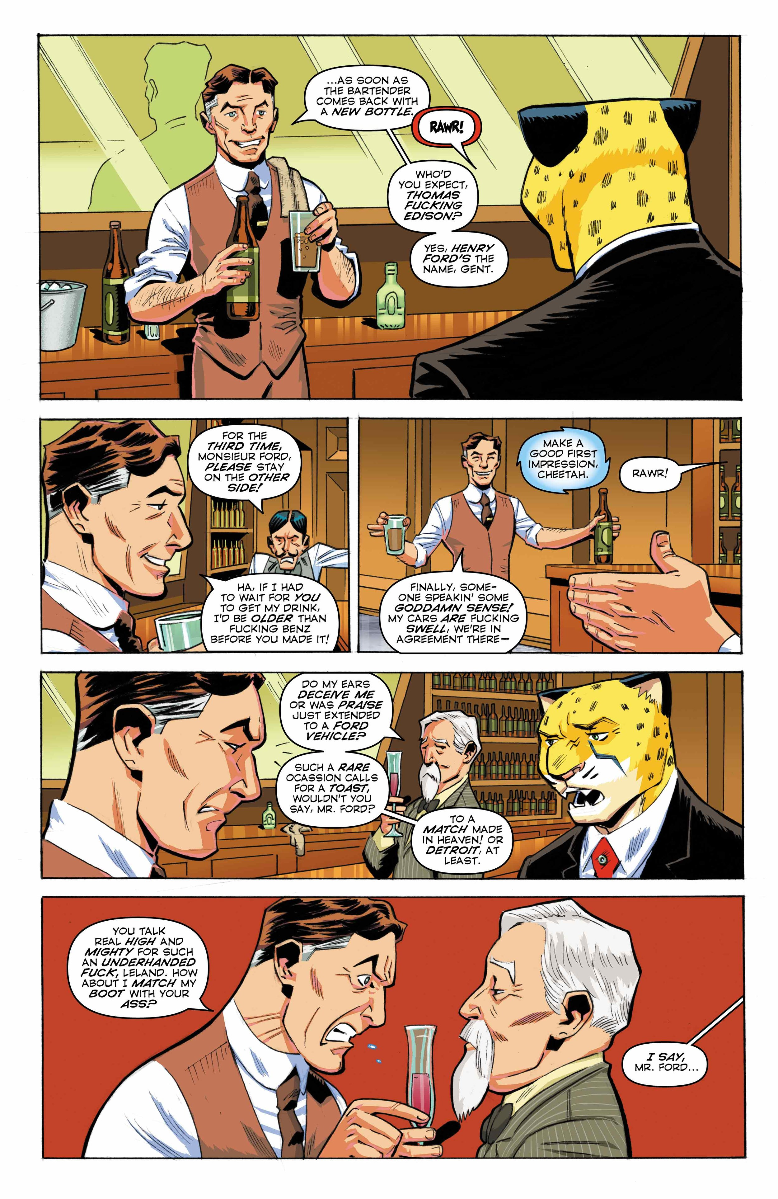 Time Cheetah -Ford's Fortune Part 1 Page 12