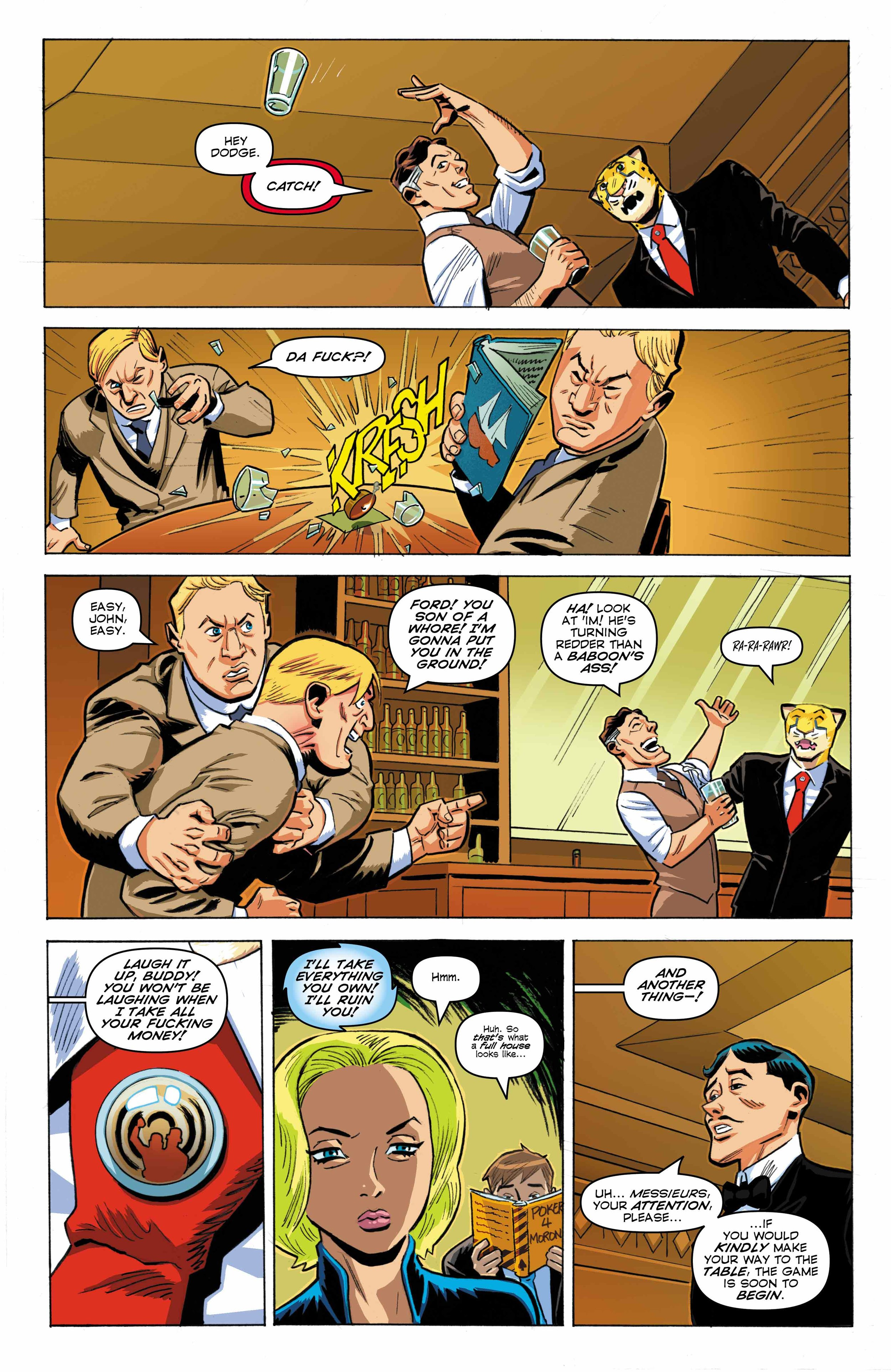 Time Cheetah -Ford's Fortune Part 1 Page 15