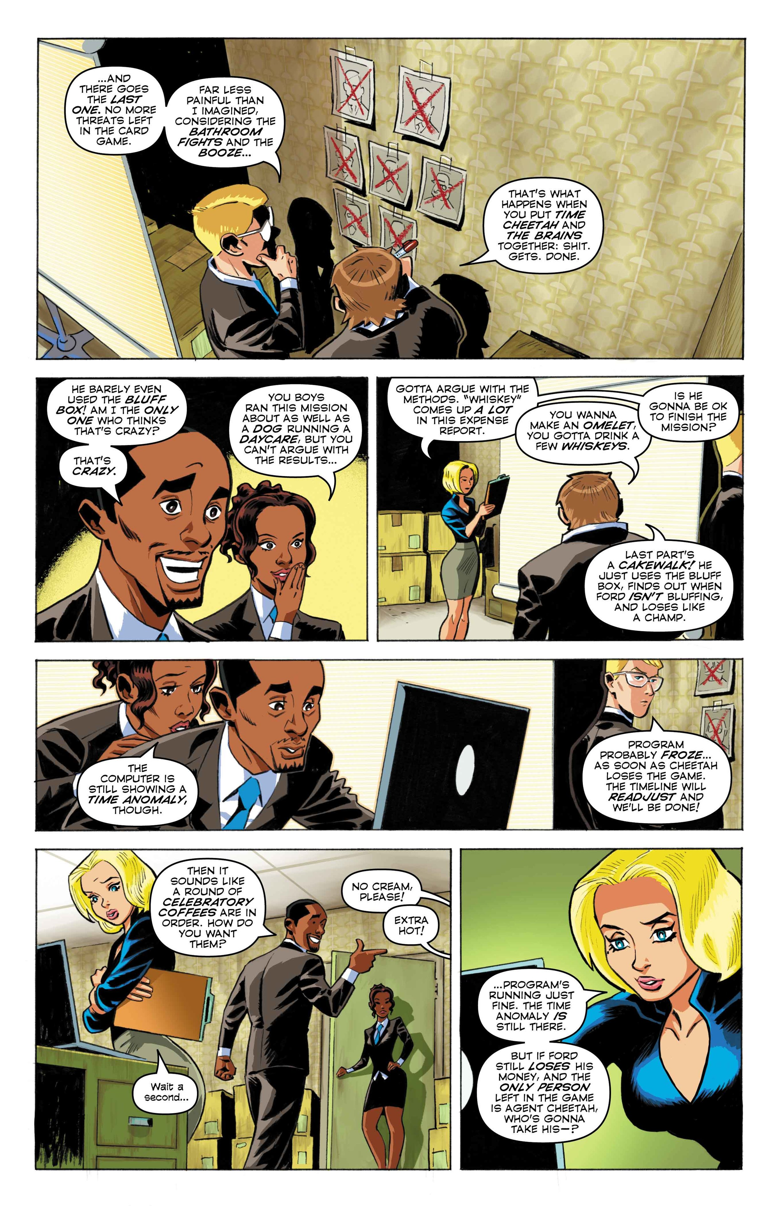 Time Cheetah -Ford's Fortune Part 1 Page 25