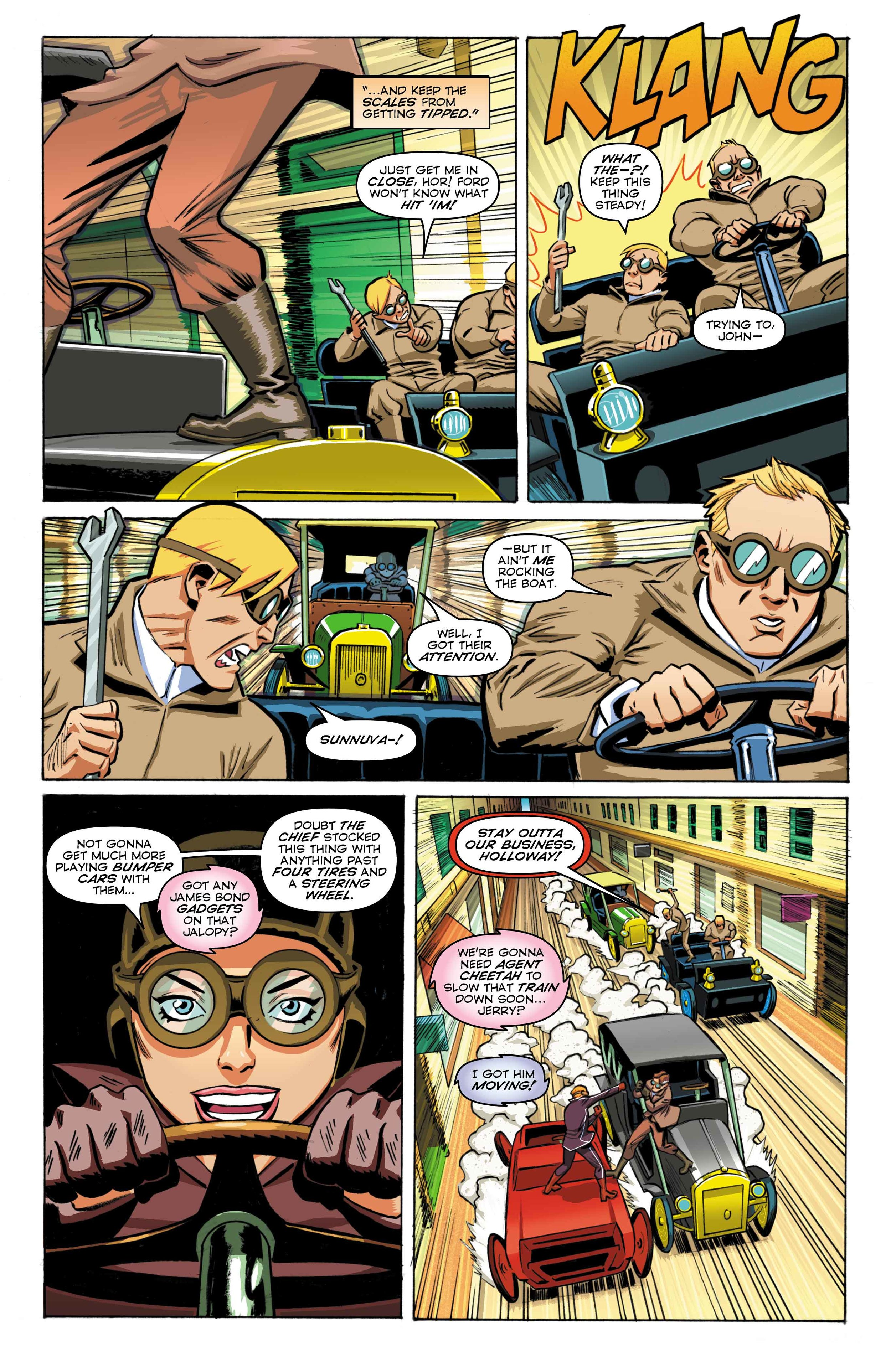 Time Cheetah -Ford's Fortune Part 2 - Page 13