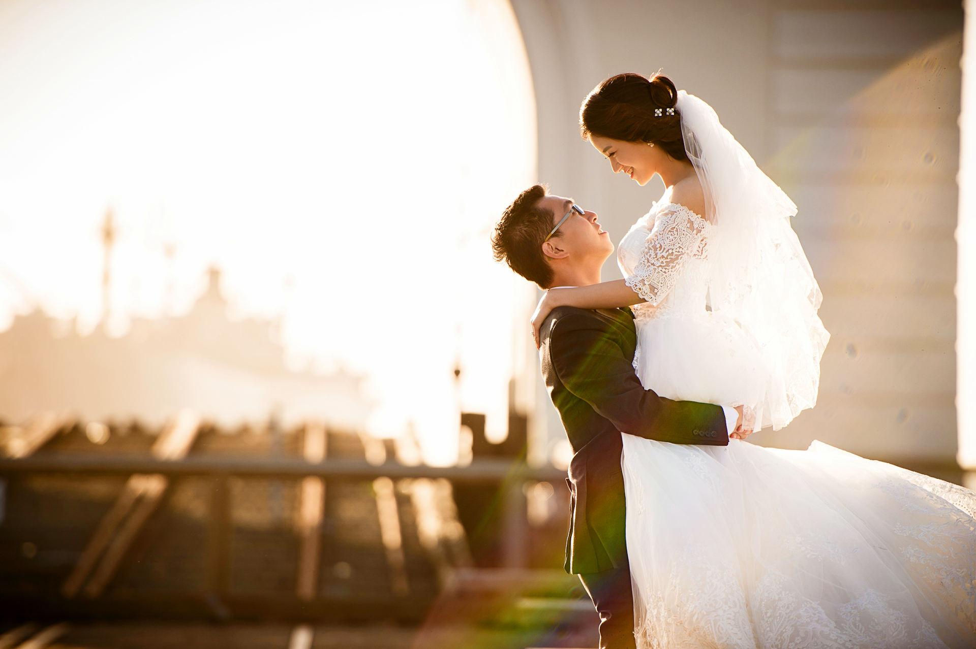 旧金山渔人码头婚纱照 pier 39 pre wedding