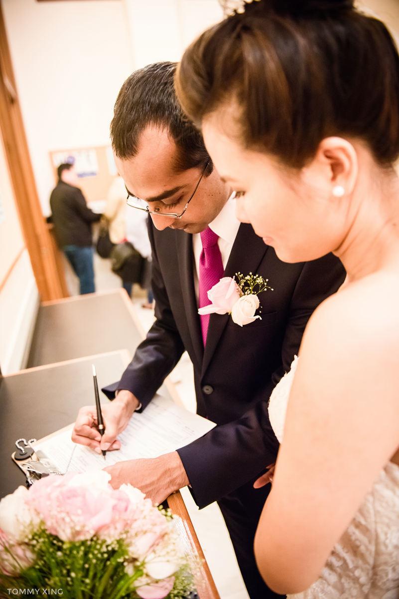 San Francisco City Hall Wedding - 旧金山市政厅婚礼领证仪式 - Tommy Xing