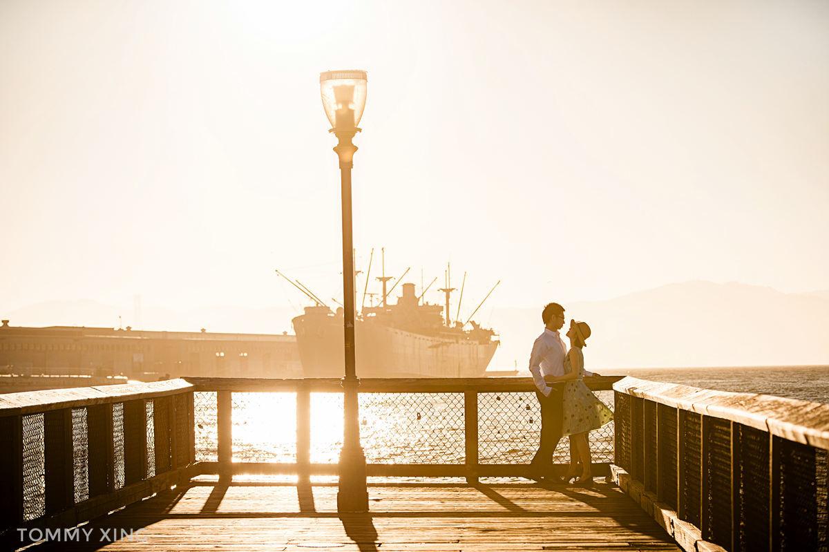 旧金山订婚照/婚纱照