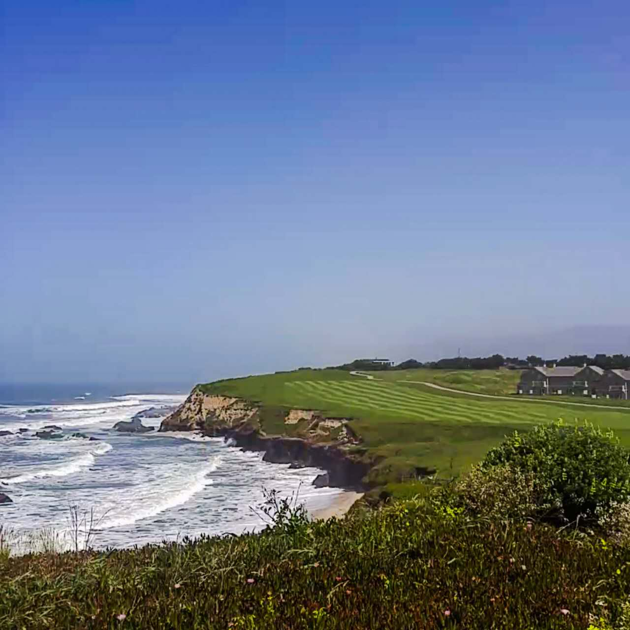 Ritz Carlton Half Moon Bay Wedding by Tommy Xing Photography 1.jpg